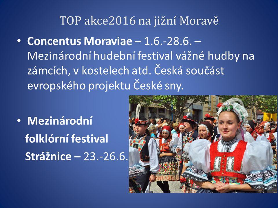 TOP akce2016 na jižní Moravě Concentus Moraviae – 1.6.-28.6.