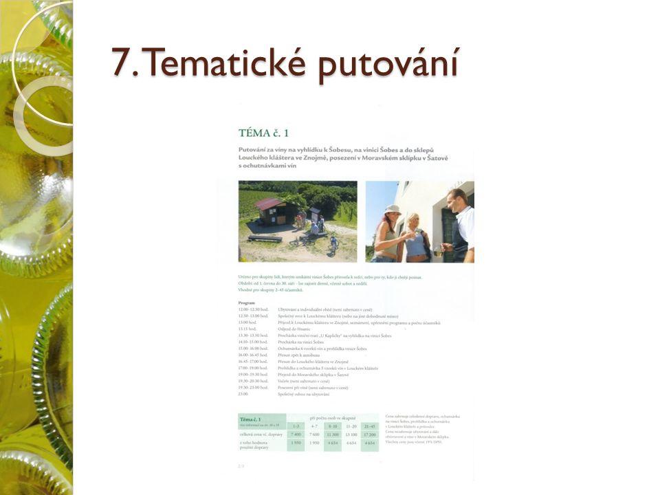 7. Tematické putování