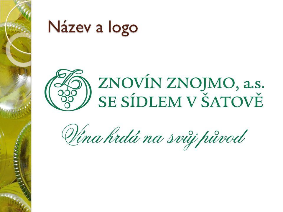 Název a logo