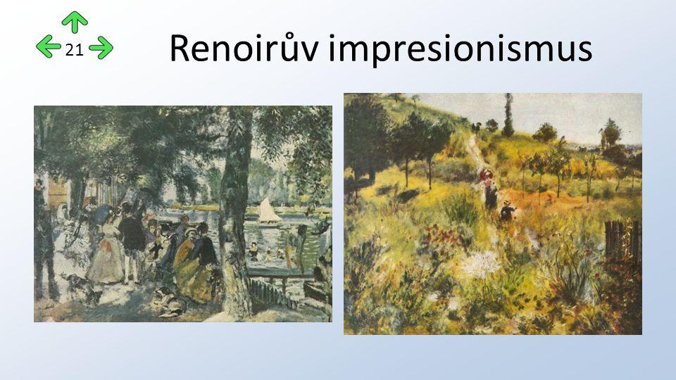 Renoirův impresionismus 21