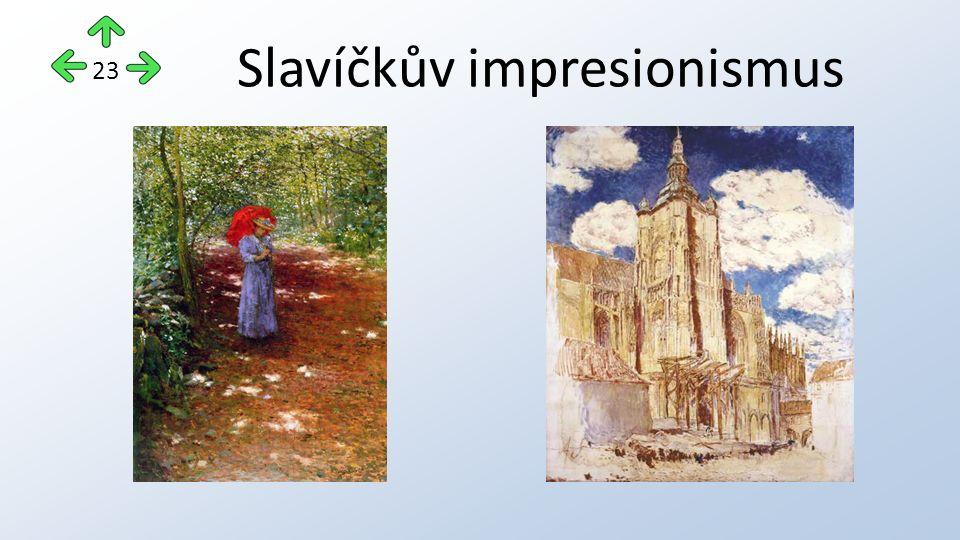 Slavíčkův impresionismus 23