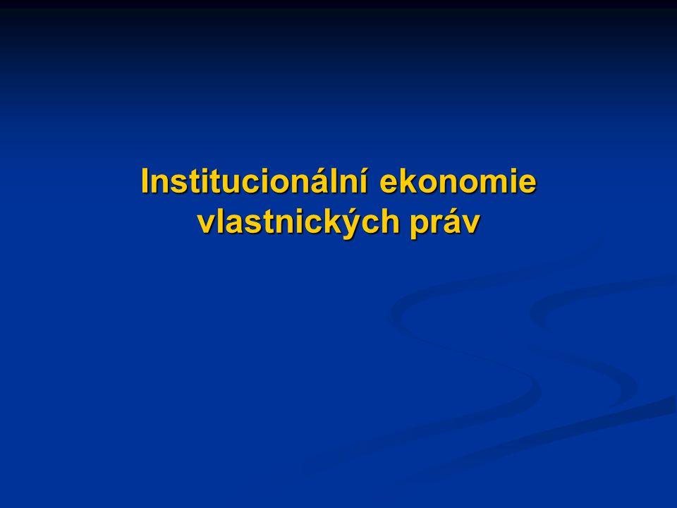 Návrhy témat eseje: Transakční náklady a chování subjekt Jak osoby (jednotlivci, firmy) reagují na vysoké transakční náklady v rámci prověřování důvěryhodnosti partnera, získávání informací, vytváření a vynucování smluv.