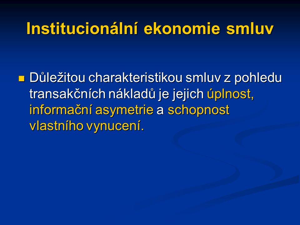 Smlouva je dohodou založenou na shodě dvou projevů vůle směřujících ke směně (prodeji, pronájmu) vlastnických práv.