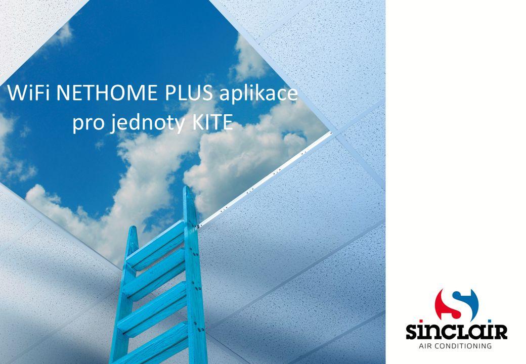 WiFi NETHOME PLUS aplikace pro jednoty KITE