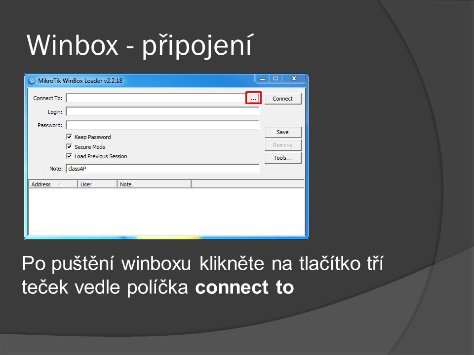 coreFTP - připojení Na obrázku v pravé časti můžeme vidět soubory zálohy nahrané v routeru