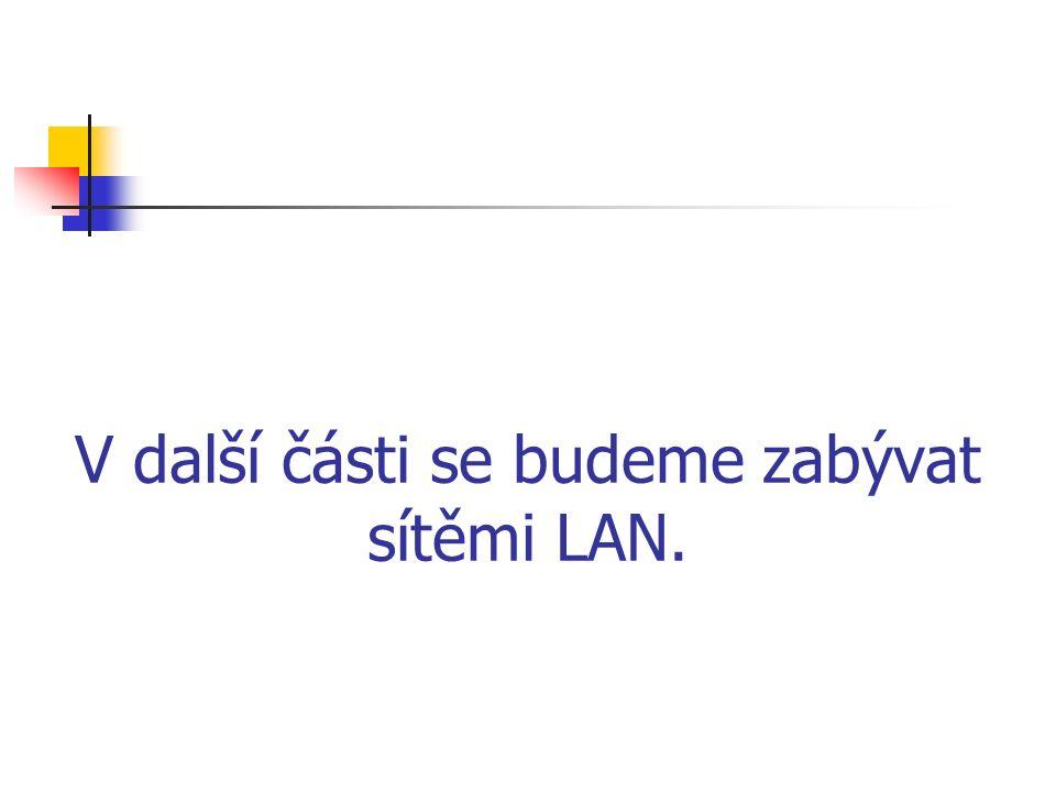 Topologie sítí LAN - teorie Zapojení do hvězdy Zapojení na sběrnici.