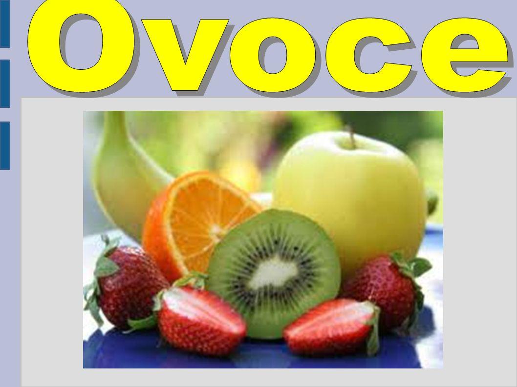 Ovoce jsou sladké zralé plody, plodenství nebo semena víceletých semenných rostlin, nejčastěji dřevin.