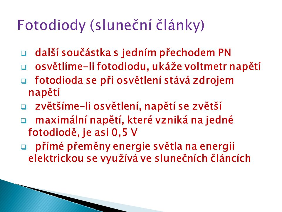 značka fotodiody