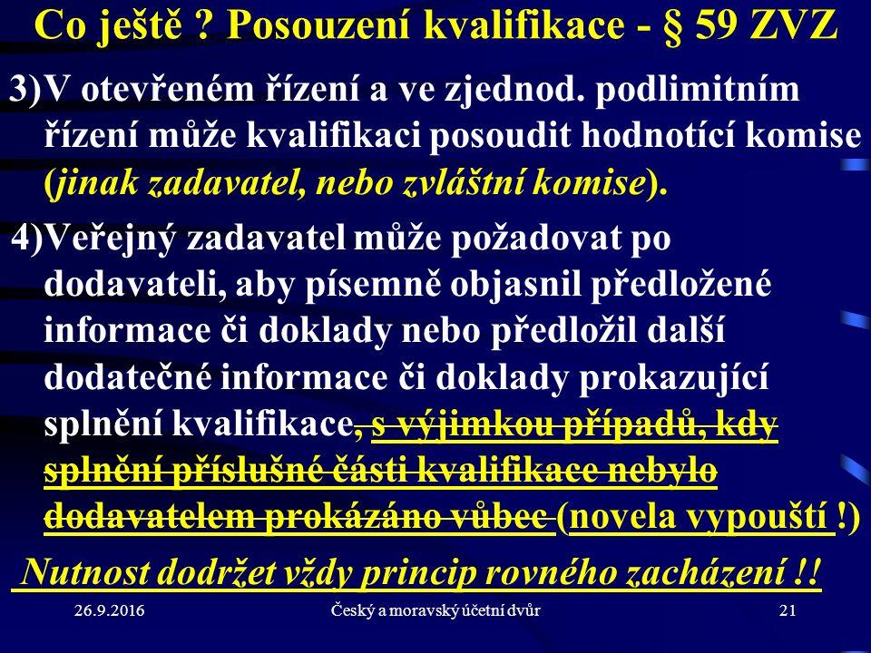 26.9.2016Český a moravský účetní dvůr21 Co ještě .