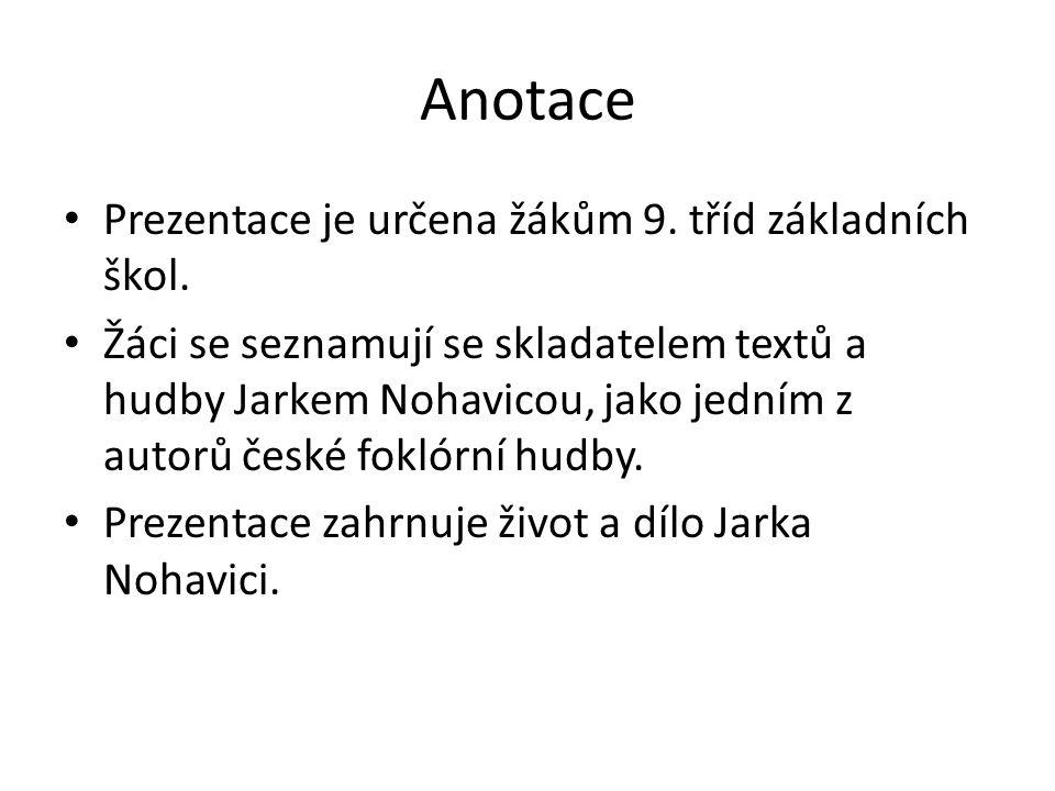 Jarek Nohavica – životní dráha umělce * 7.