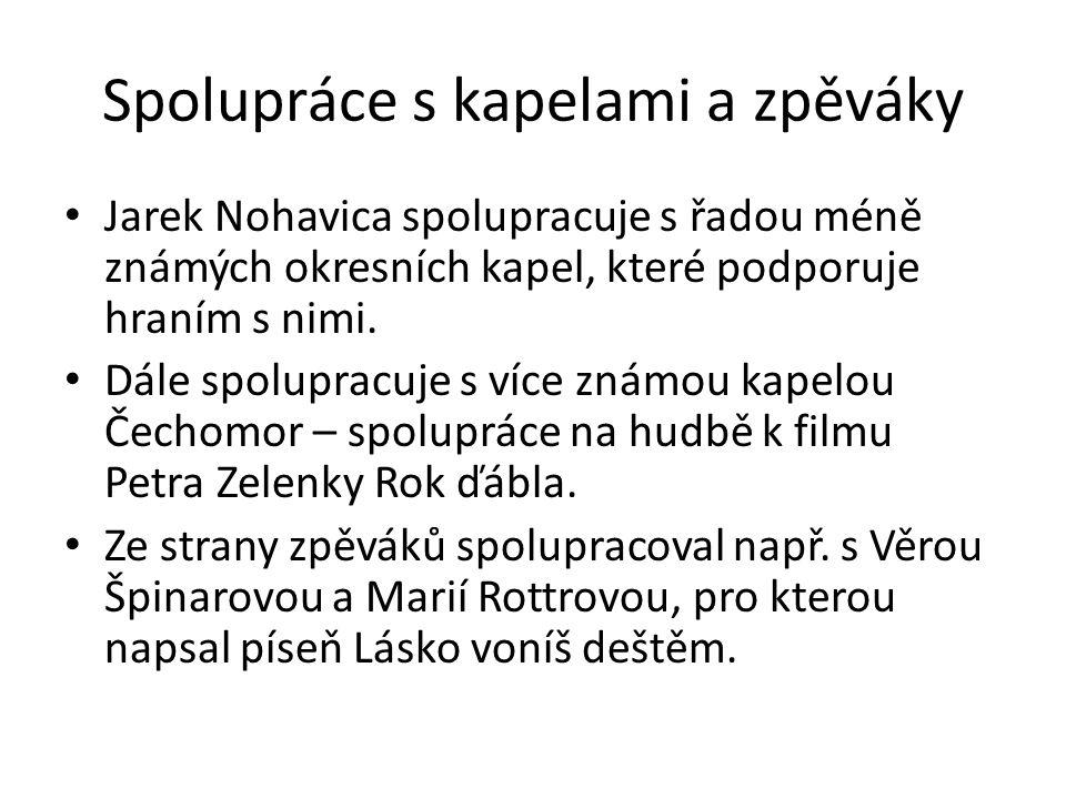 Životní radosti Jarka Nohavici Jarek je šťastně ženatý, jeho manželka se jmenuje Martina a mají spolu dvě děti.