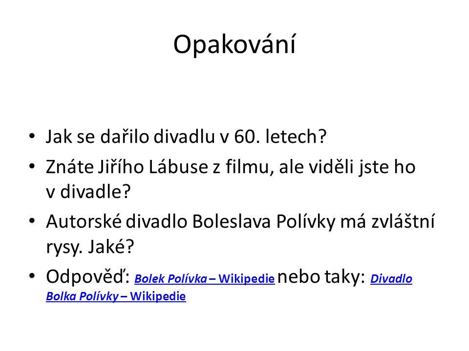 Zdroje Divadla malých forem - valek.net 60.