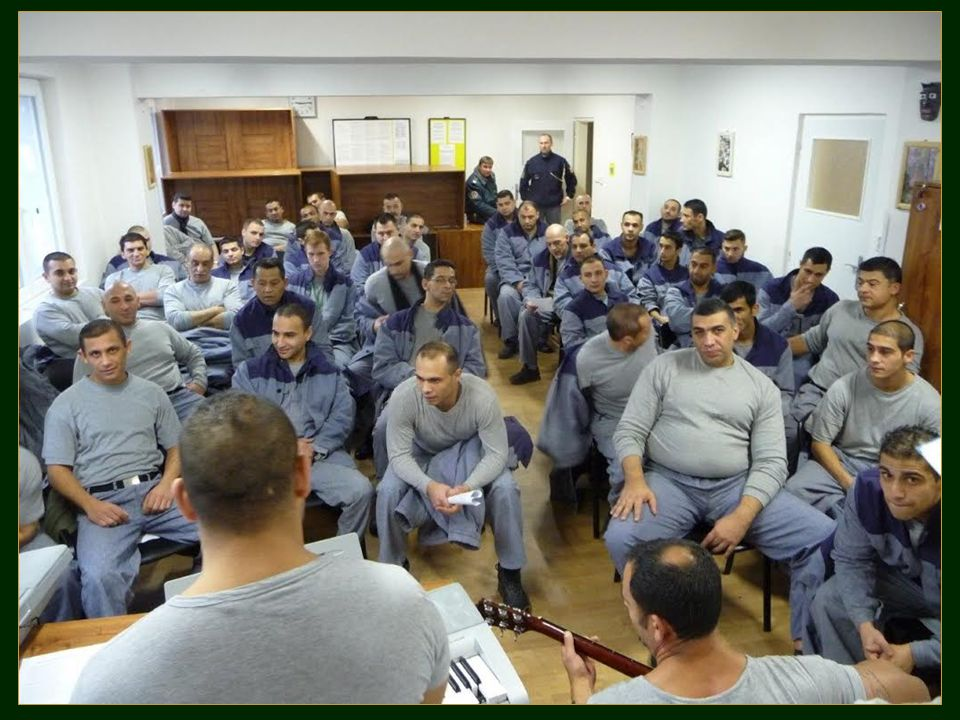 Duchovní služba ve věznicích. Jabok - ETF 2015 28