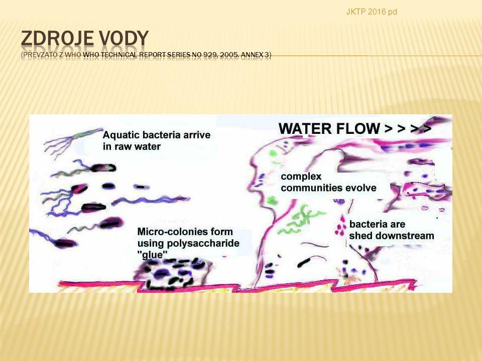  Voda představuje nejrozšířenější komoditu ve farmaceutické produkci.