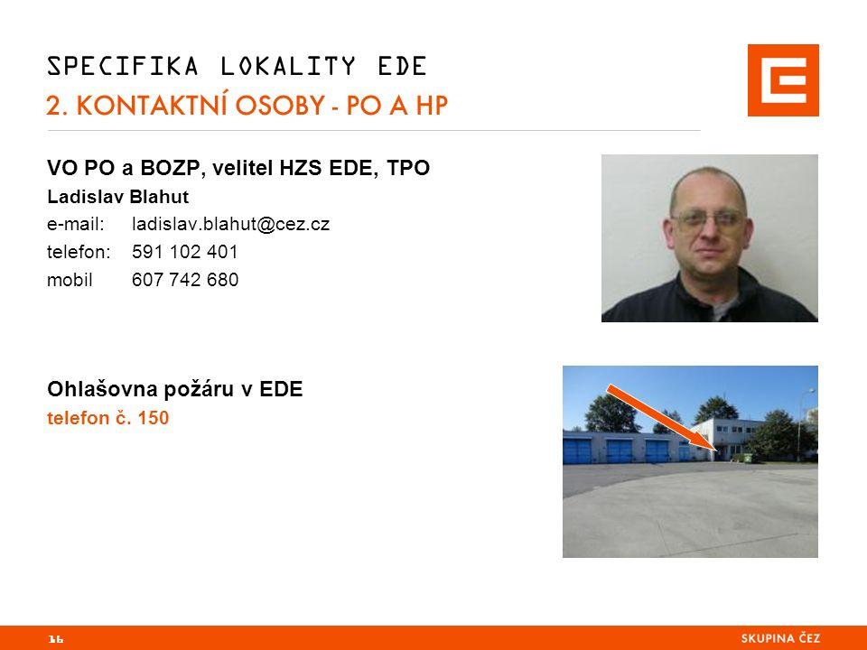 16 SPECIFIKA LOKALITY EDE 2.