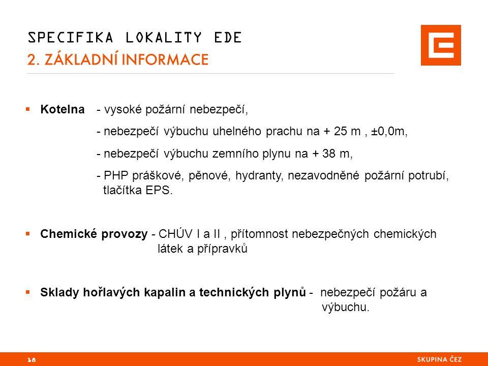 SPECIFIKA LOKALITY EDE 2.