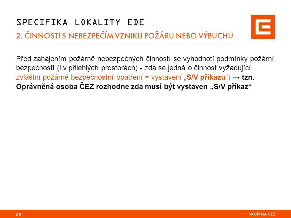 24 SPECIFIKA LOKALITY EDE 2.