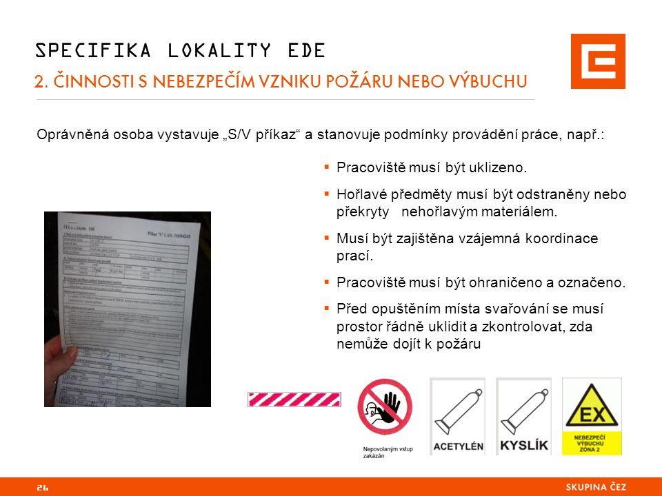 26 SPECIFIKA LOKALITY EDE 2.