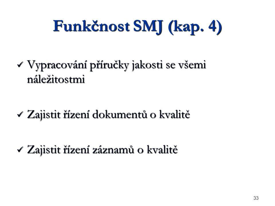 33 Funkčnost SMJ (kap.