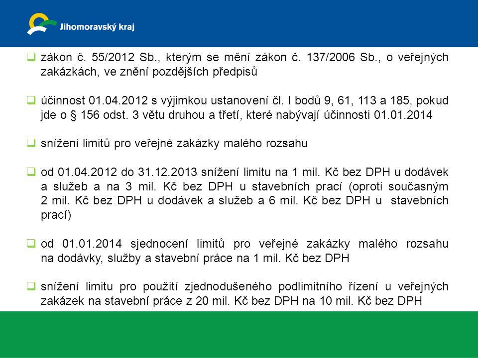  zákon č. 55/2012 Sb., kterým se mění zákon č.