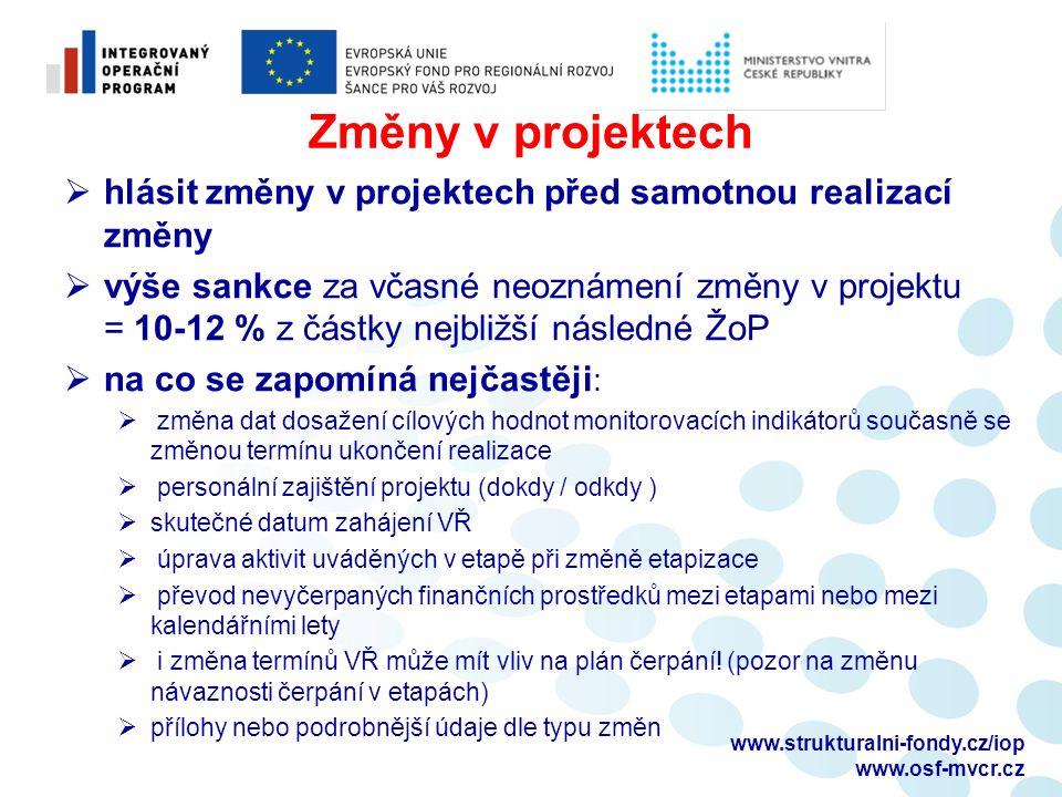 Dokumentace k výběrovým řízením  předkládání dokumentace Ministerstvu financí:  projekty nad 100 mil.