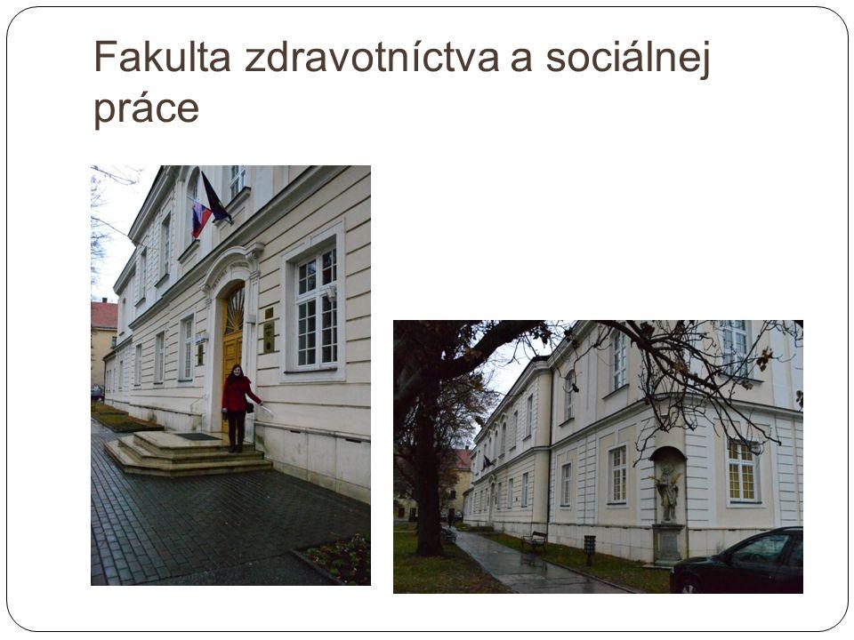 Fakulta zdravotníctva a sociálnej práce