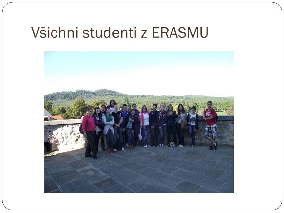 Všichni studenti z ERASMU