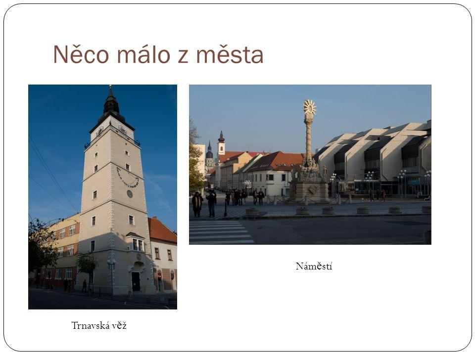 Něco málo z města Trnavská v ě ž Nám ě stí