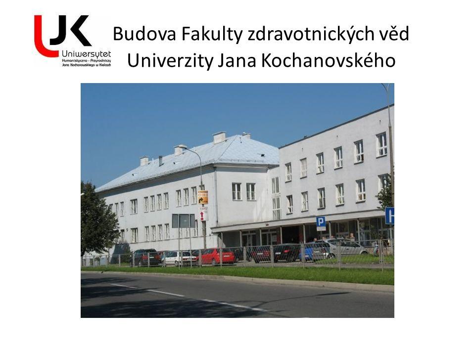 Budova Fakulty zdravotnických věd Univerzity Jana Kochanovského