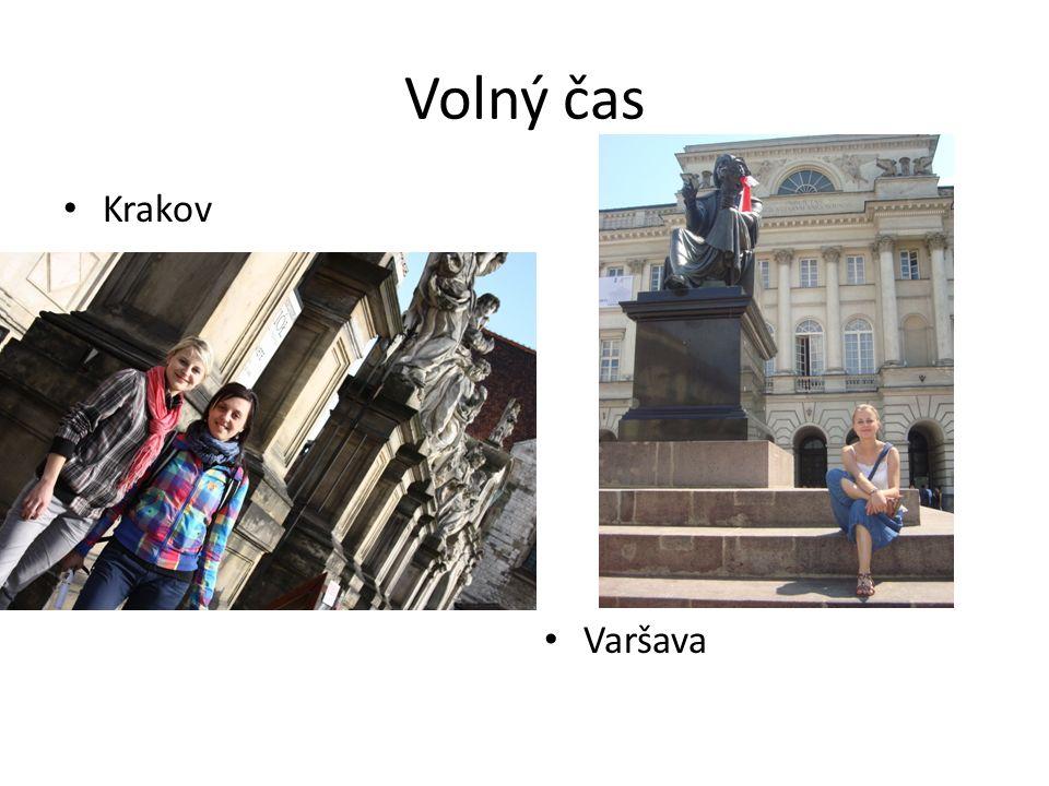 Volný čas Krakov Varšava