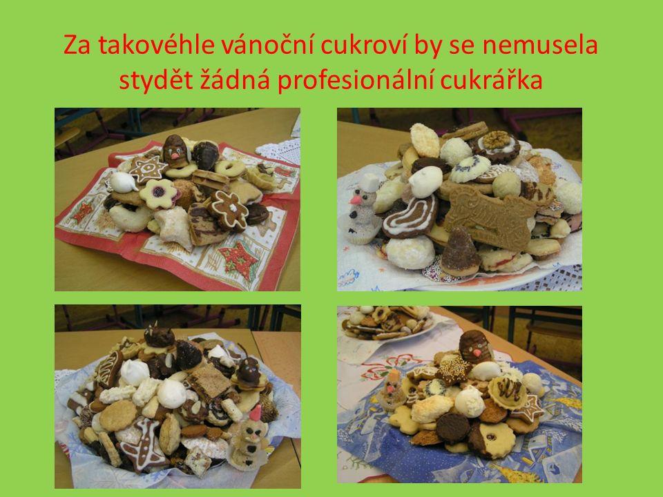 Za takovéhle vánoční cukroví by se nemusela stydět žádná profesionální cukrářka