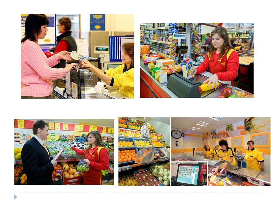Příklad pracovních činnosti prodavače  přesun zboží ze skladu do prodejní části a jeho vystavení  vyzkoušení kvality  pomoc zákazníkovi při výběru  seznámení s podmínkami půjček, slev  balení zboží  vystavení dokladu o prodeji  vydání záručního listu  přejímka zboží, jeho uskladnění, ošetření  průzkum spotřebitelské poptávky  účast na inventurách  aranžování zboží v prodejně  plnění dalších povinností souvisejících s prodejem