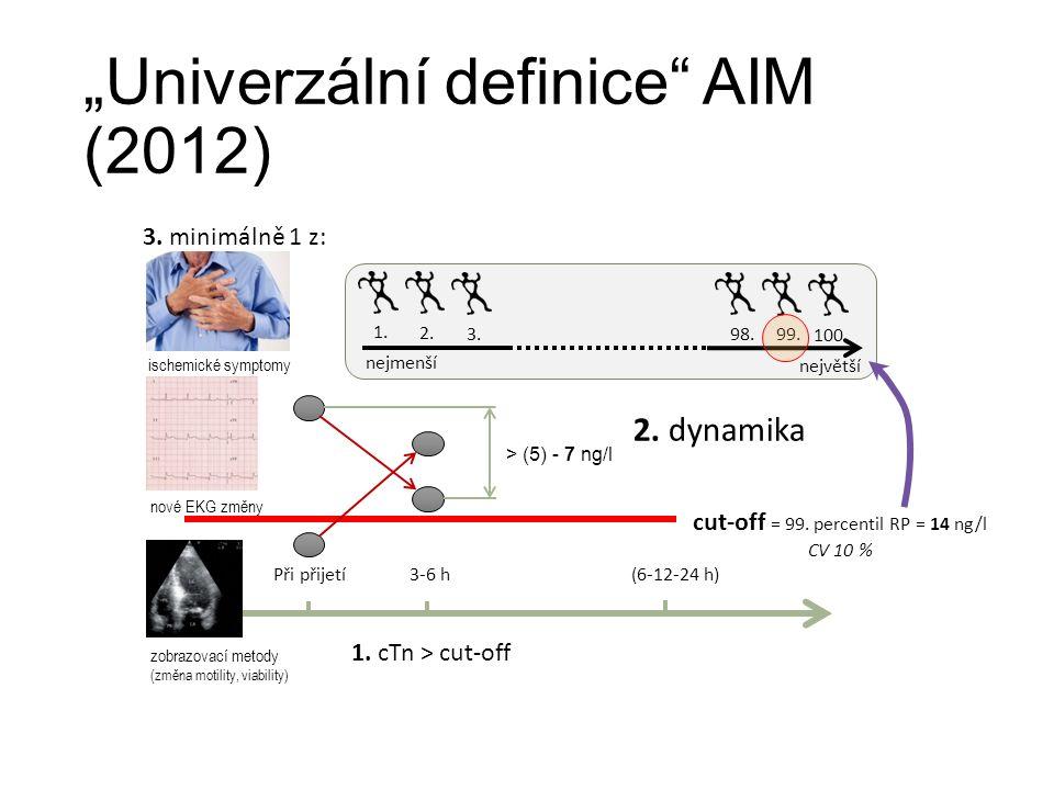 """""""Univerzální definice AIM (2012) Při přijetí3-6 h(6-12-24 h) 1."""