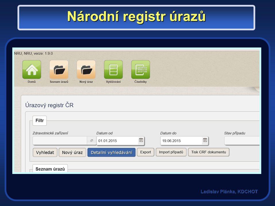 Národní registr úrazů