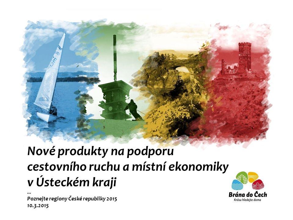 Nové produkty na podporu cestovního ruchu a místní ekonomiky v Ústeckém kraji … Poznejte regiony České republiky 2015 10.3.2015