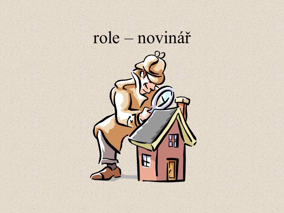 role – novinář