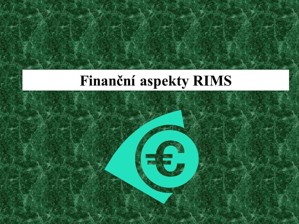 Finanční aspekty RIMS