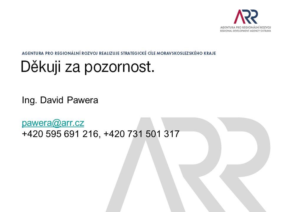 Ing. David Pawera pawera@arr.cz +420 595 691 216, +420 731 501 317
