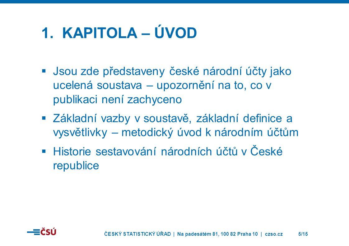 ČESKÝ STATISTICKÝ ÚŘAD | Na padesátém 81, 100 82 Praha 10 | czso.cz5/15 1.