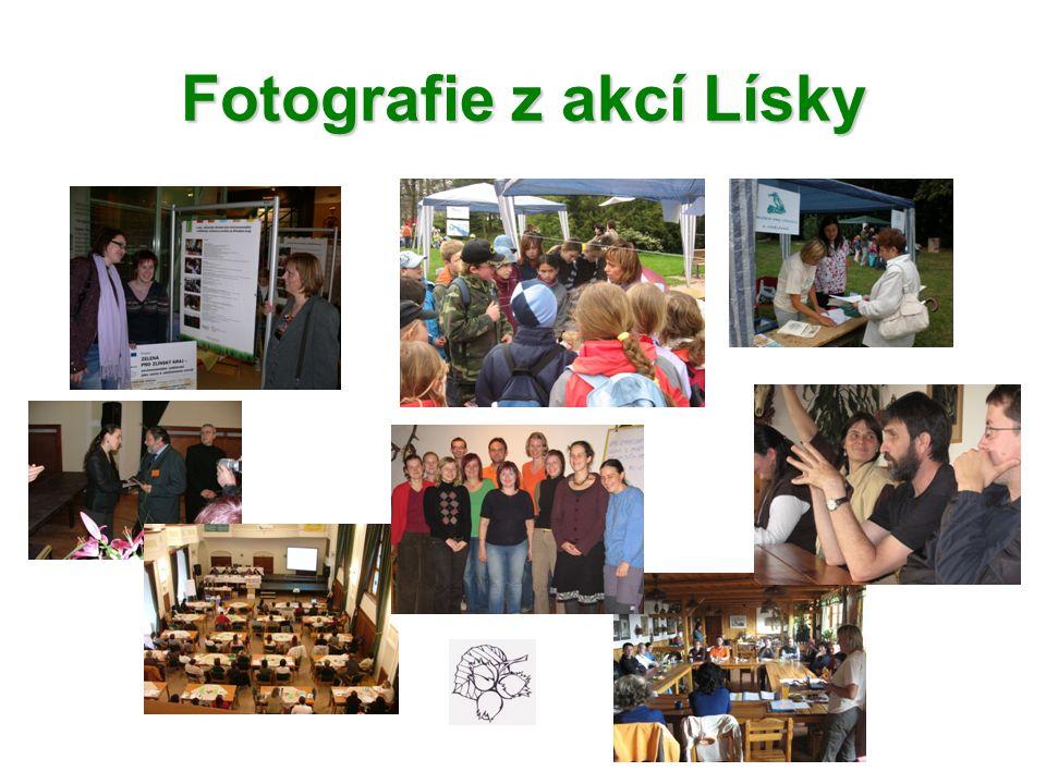 Fotografie z akcí Lísky