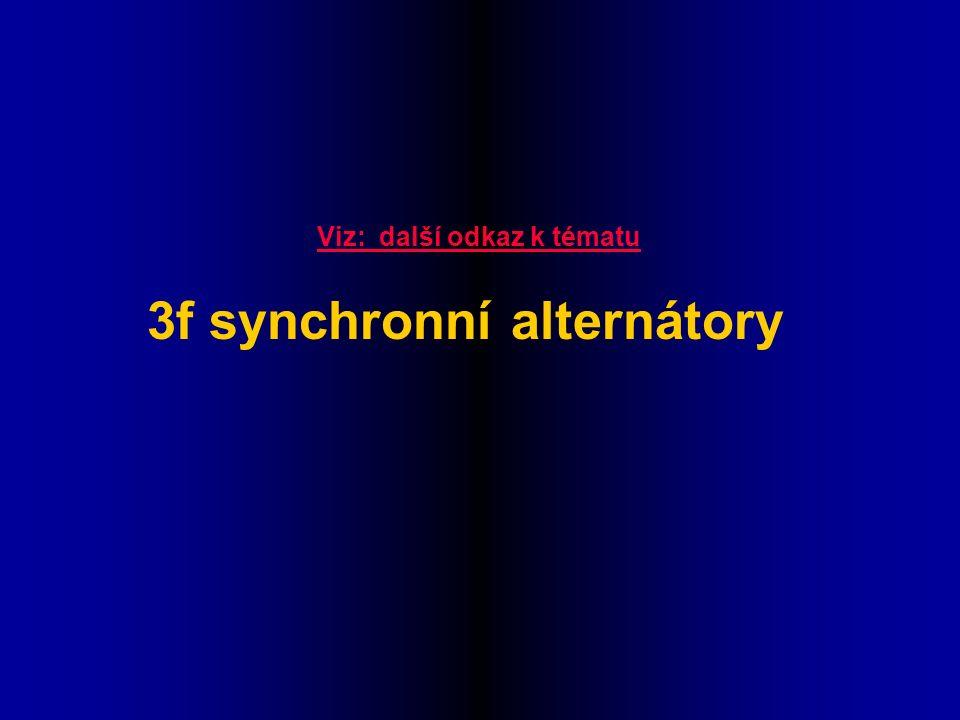 Viz: další odkaz k tématu 3f synchronní alternátory
