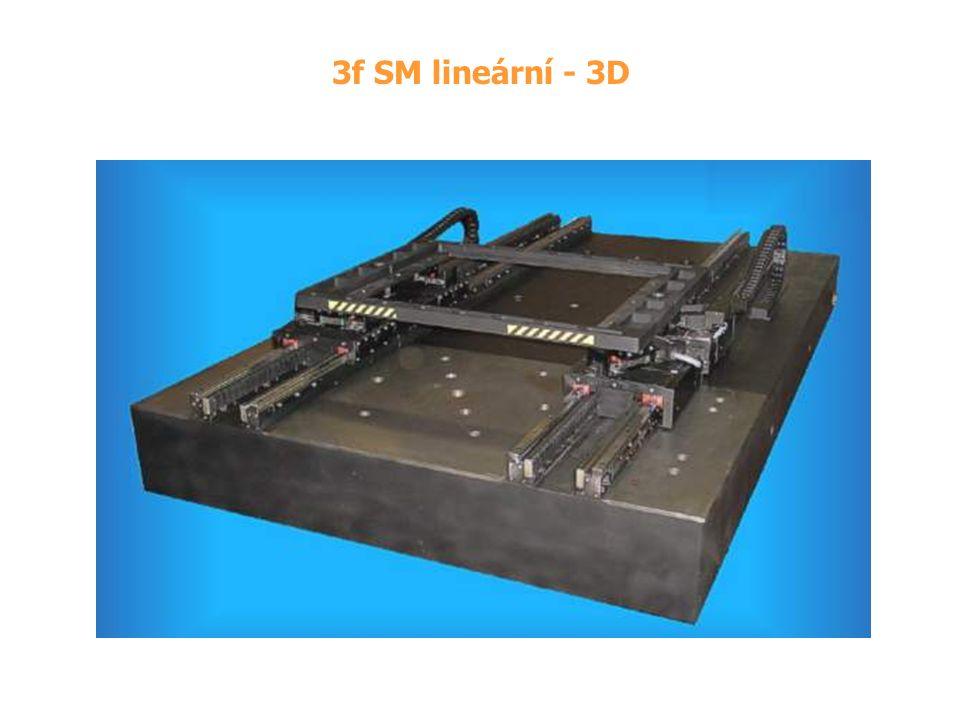 3f SM lineární - 3D