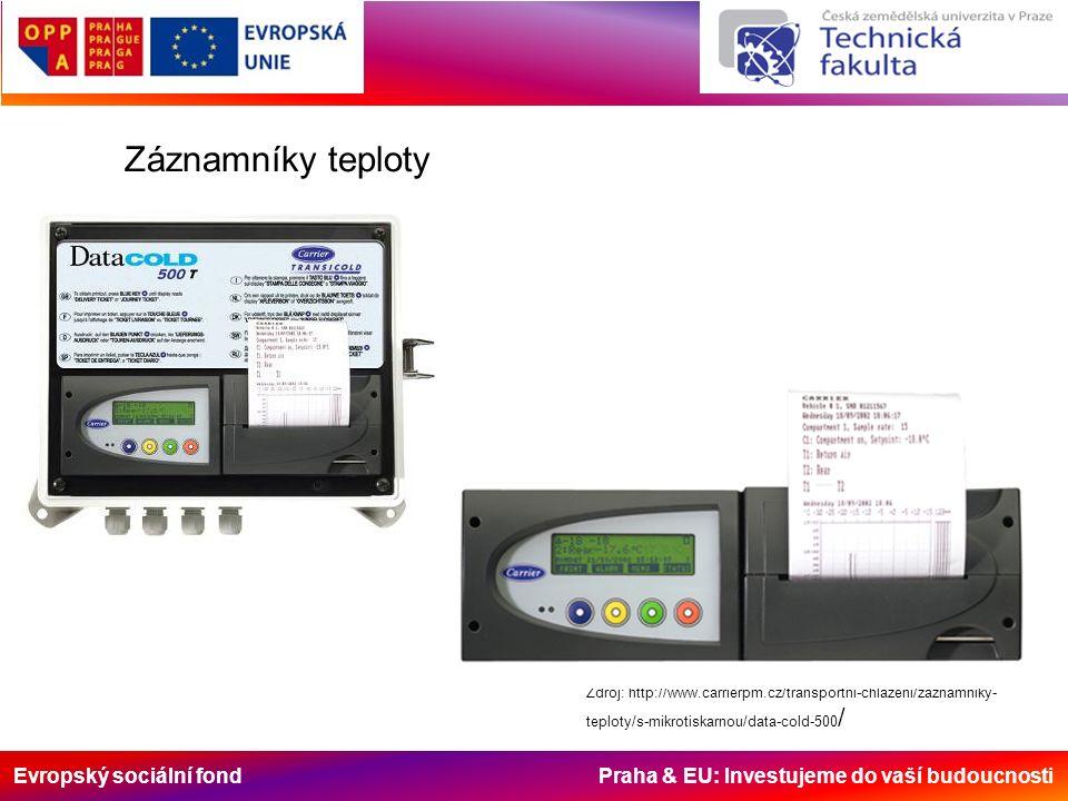 Evropský sociální fond Praha & EU: Investujeme do vaší budoucnosti Zdroj: http://www.carrierpm.cz/transportni-chlazeni/zaznamniky- teploty/s-mikrotisk