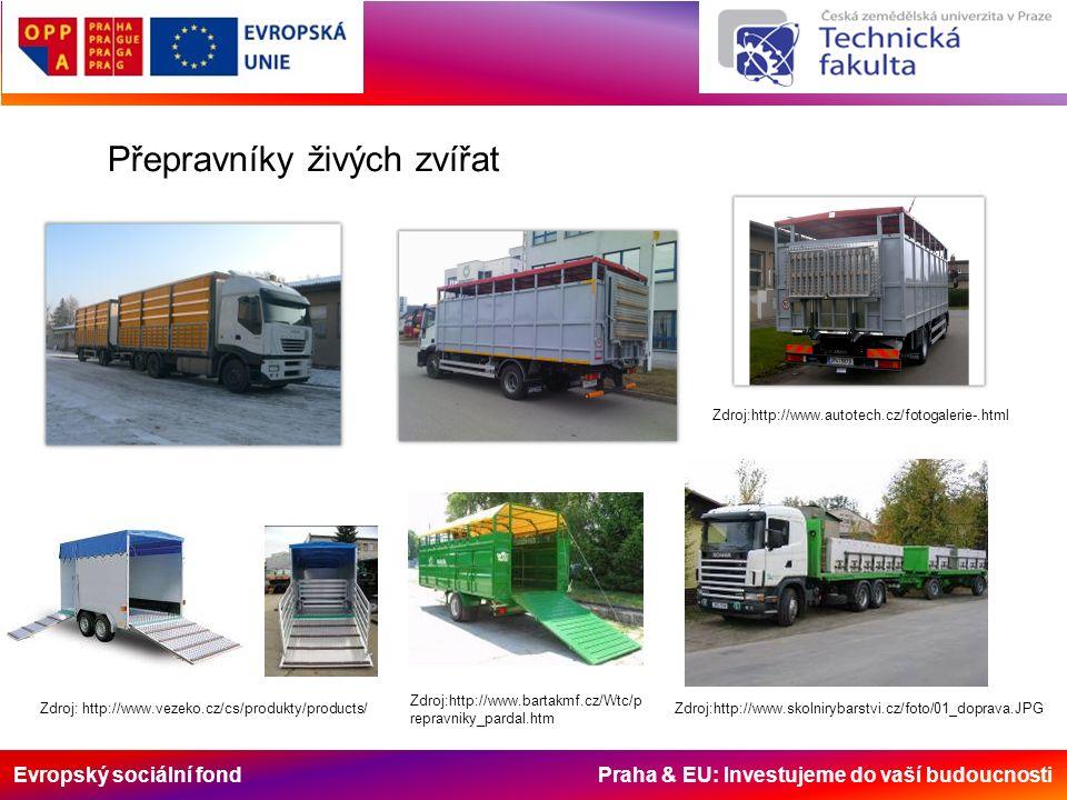 Evropský sociální fond Praha & EU: Investujeme do vaší budoucnosti Zdroj:http://www.autotech.cz/fotogalerie-.html Zdroj: http://www.vezeko.cz/cs/produ