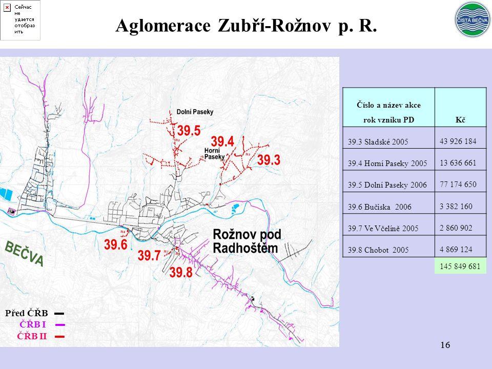 16 Aglomerace Zubří-Rožnov p. R.