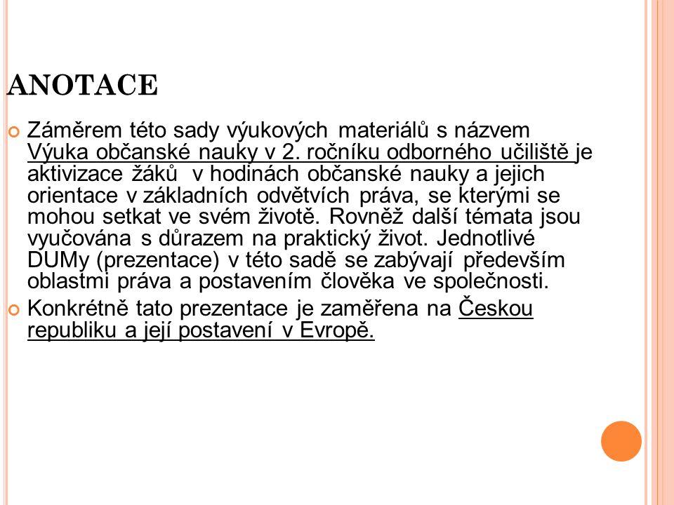 K ONTROLNÍ OTÁZKY 1.Kdy vznikla Česká republika .