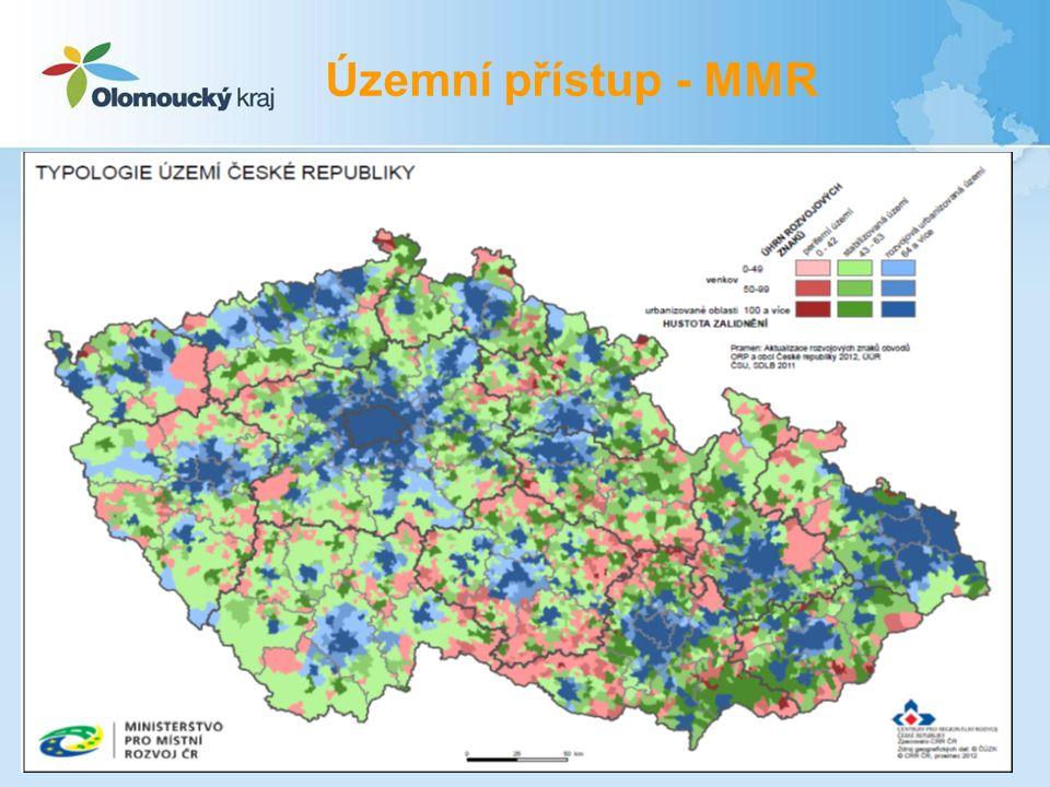 Územní přístup - MMR 15