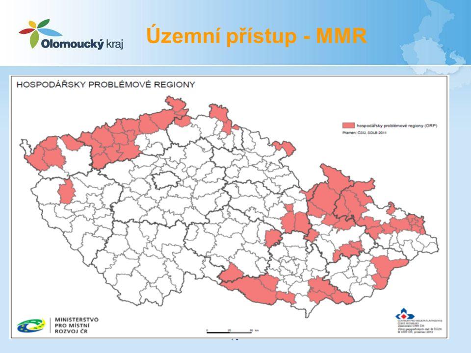 Územní přístup - MMR 16