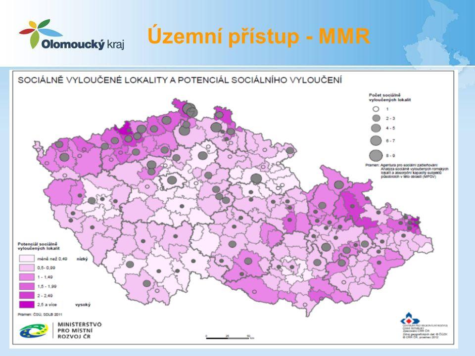 Územní přístup - MMR 17