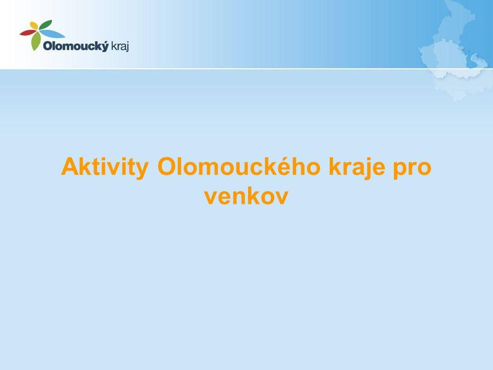 Aktivity Olomouckého kraje pro venkov